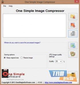 One Simple Image Compressor Ekran Görüntüleri - 1