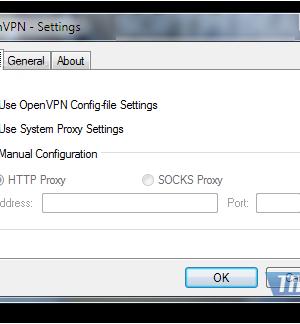 OpenVPN Ekran Görüntüleri - 1