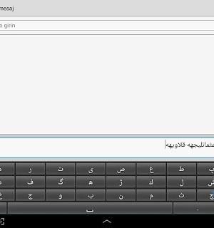 Osmanlıca Q Klavye Ekran Görüntüleri - 1