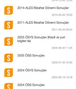ÖSYM Mobil Ekran Görüntüleri - 3