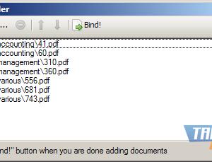 PDFBinder Ekran Görüntüleri - 1