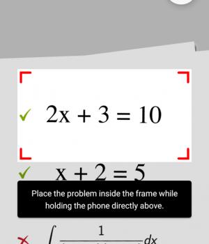 PhotoMath Ekran Görüntüleri - 3