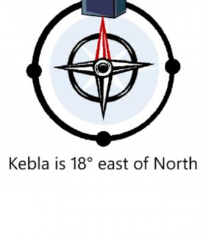 Qibla Compass Ekran Görüntüleri - 1