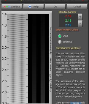 QuickGamma Ekran Görüntüleri - 2