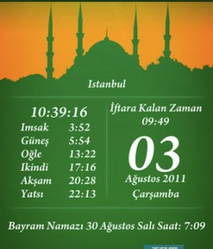 Ramazan İmsakiyesi Ekran Görüntüleri - 5