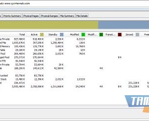 RAMMap Ekran Görüntüleri - 1