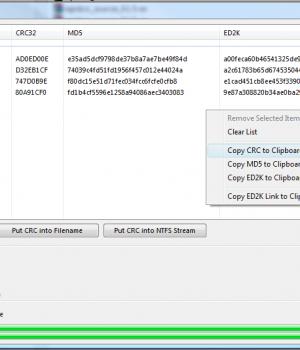 RapidCRC Unicode Ekran Görüntüleri - 3
