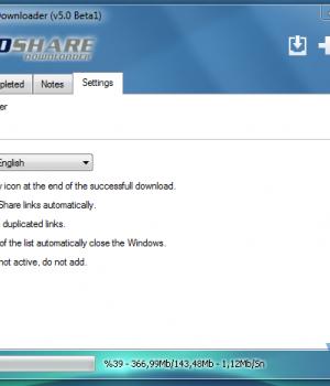 RapidShare Downloader Ekran Görüntüleri - 1