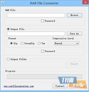 RAR File Converter Ekran Görüntüleri - 1