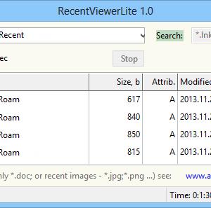 RecentViewerLite Ekran Görüntüleri - 1