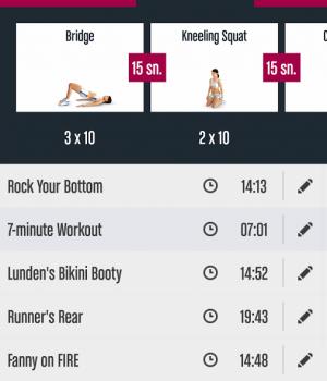 Runtastic Butt Trainer Ekran Görüntüleri - 2