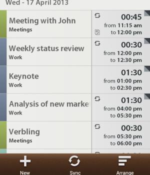 Schedule Planner Ekran Görüntüleri - 1