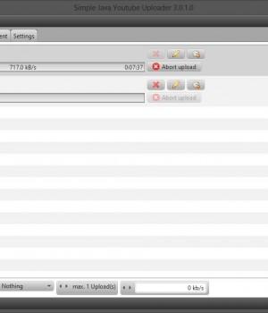 Simple Java Youtube Uploader Ekran Görüntüleri - 1