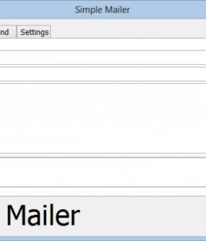 Simple Mailer Ekran Görüntüleri - 1
