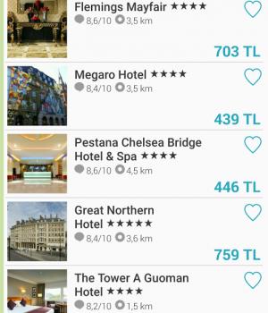 Skyscanner Hotels Ekran Görüntüleri - 1