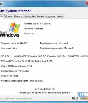 Smart System Informer Ekran Görüntüleri - 1
