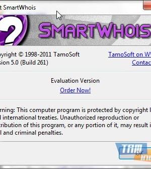 SmartWhois Ekran Görüntüleri - 1