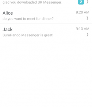 SumRando Messenger Ekran Görüntüleri - 5