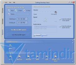 Talking Desktop Clock Ekran Görüntüleri - 3