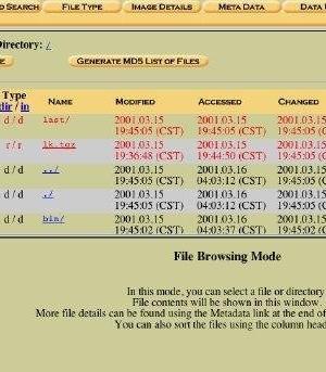 The Autopsy Forensic Browser Ekran Görüntüleri - 1