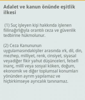 Türk Ceza Kanunu - TCK Ekran Görüntüleri - 1