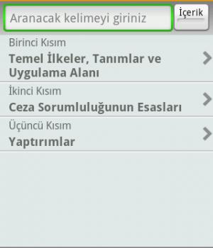 Türk Ceza Kanunu - TCK Ekran Görüntüleri - 2