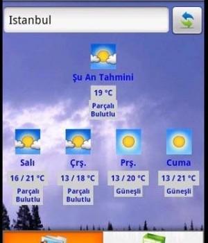 Turkey Weather forecast Ekran Görüntüleri - 1