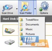 TweakNow DiskAnalyzer Ekran Görüntüleri - 1