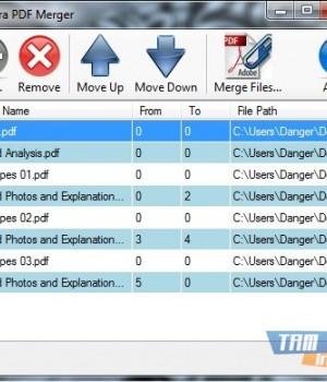 Ultra PDF Merger Ekran Görüntüleri - 2