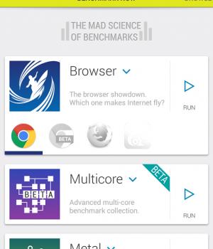 Vellamo Mobile Benchmark Ekran Görüntüleri - 1