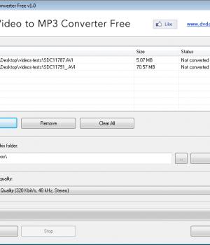 Video to MP3 Converter Free Ekran Görüntüleri - 1