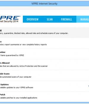 VIPRE Internet Security Ekran Görüntüleri - 1