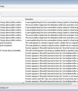 VisualCodeGrepper Ekran Görüntüleri - 1