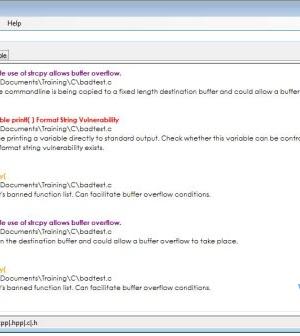 VisualCodeGrepper Ekran Görüntüleri - 2