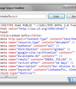 Webpage Source Grabber Ekran Görüntüleri - 1