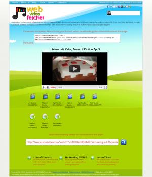 WebVideoFetcher Ekran Görüntüleri - 1