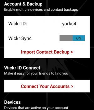 Wickr Ekran Görüntüleri - 3