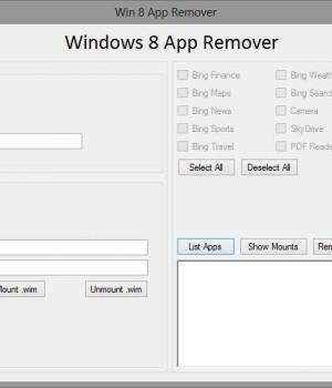 Win 8 App Remover Ekran Görüntüleri - 1
