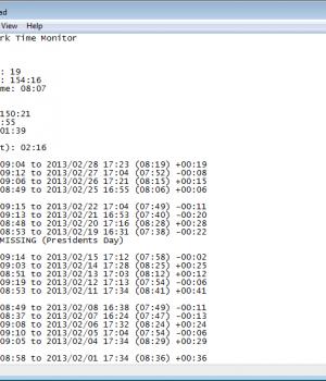 Work Time Monitor Ekran Görüntüleri - 1