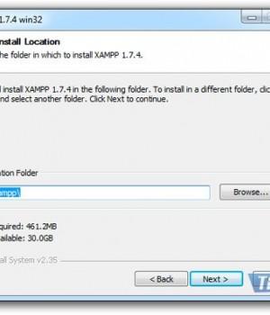 XAMPP Ekran Görüntüleri - 5