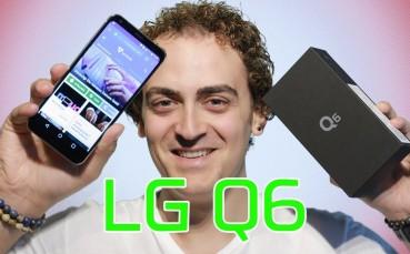 1300 TL ve Sonsuz Ekran!  - LG Q6 Kutu Açılımı