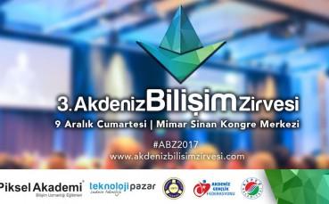 3. Akdeniz Bilişim Zirvesi Bu Yıl 9 Aralık'ta