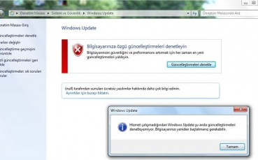 Bazı Kullanıcılar Windows 7 Güncellemelerinde Sorun Yaşıyor