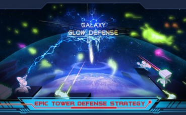 Galaxy Glow Defense
