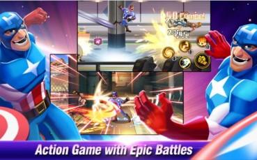 Battle of Superheroes Captain Avengers