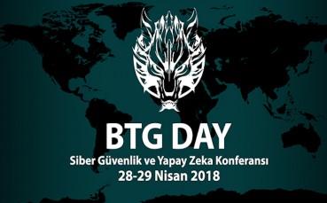 """BTG Day 2018'de """"Siber Güvenlik"""" ve """"Yapay Zeka"""" Konuşulacak"""