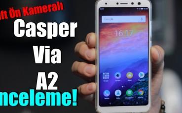 Casper Via A2 İnceleme - 20+8 MP Çift Ön Kamera!