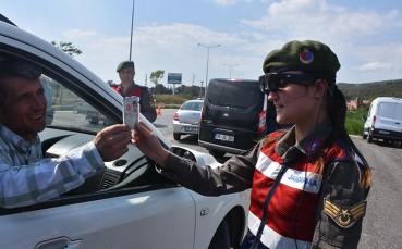 Jandarma Yeni Nesil Teknoloji İle Uygulama Yapıyor