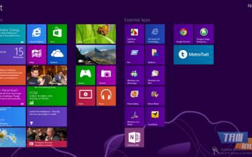 Windows 8 Enterprise Deneme Sürümü