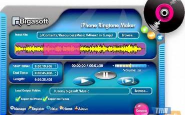 Bigasoft iPhone Ringtone Maker for Mac